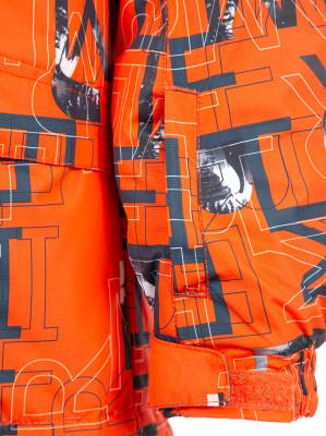 Фото 4 - Куртку утепленная для мальчиков Termit, размер 164 красного цвета