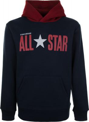 Купить Худи для мальчиков Converse All Star, размер 152 синего цвета