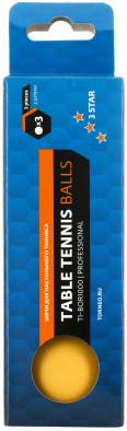 Мячи для настольного тенниса Torneo, 3 шт.