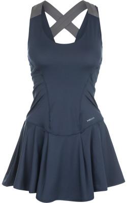 Платье женское Head Vision, размер 40-42Женская одежда<br>Технологичное теннисное платье от head. Свобода движений эластичная износостойкая ткань ergo stretch служит для идеальной посадки и полной свободы движений.