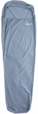 Вкладыш в спальный мешок OutventureХлопчатобумажный вкладыш для спальника-одеяла. Сохраняет спальник в чистоте.<br>Пол: Мужской; Возраст: Взрослые; Вид спорта: Кемпинг, Походы; Материалы: 100 % хлопок; Размер (Д х Ш), см: 215 х 80; Размеры (дл х шир х выс), см: 215 х 80 х 3; Вес, кг: 0,4; Производитель: Outventure; Артикул производителя: S048Z0; Срок гарантии: 2 года; Страна производства: Китай; Размер RU: Без размера;