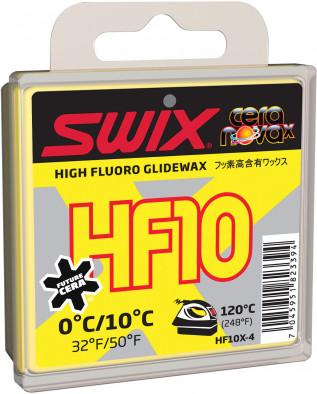 Мазь скольжения Swix HF10X, 0C/+10C
