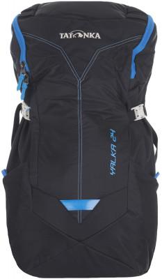 Рюкзак Tatonka Yalka 24Практичный рюкзак с верхней загрузкой станет удачным выбором для походов.<br>Объем: 24; Размеры (дл х шир х выс), см: 55 x 21 x 15; Вес, кг: 1; Материал верха: 80 % нейлон, 20 % полиэстер; Нагрудный ремень: Есть; Поясной ремень: Есть; Технологии: X-Vent Zero; Чехол от дождя: Есть; Срок гарантии: 1 год; Вид спорта: Походы; Размер RU: Без размера;