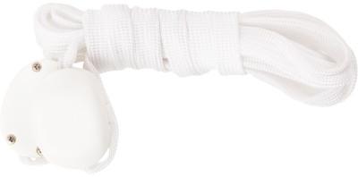 Шнурки светодиодные I-JumpШнурки со встроенными светодиодами разработаны специально для увеличения безопасности при занятии спортом в условиях плохой видимости.<br>Пол: Мужской; Возраст: Взрослые; Вид спорта: Аксессуары; Длина: 120 см; Производитель: I-Jump; Артикул производителя: ND-004-120-WH; Страна производства: Китай; Материалы: 35 % нейлон, 20 % пластик, 18 % полиэтилентерефталат, 10 % провод МГТФ, 10 % светодиоды, 7 % картон; Размер RU: 120;