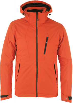 Куртка утепленная мужская IcePeak LasaroУтепленная мужская куртка от icepeak разработана специально для походов и активного отдыха на природе.<br>Пол: Мужской; Возраст: Взрослые; Вид спорта: Походы; Вес утеплителя на м2: 180 г/м2; Наличие чехла: Нет; Длина по спинке: 76 см; Водонепроницаемость: 10 000 мм; Паропроницаемость: 5000 г/м2/24 ч; Температурный режим: До -20; Покрой: Прямой; Дополнительная вентиляция: Нет; Проклеенные швы: Да; Длина куртки: Средняя; Капюшон: Отстегивается; Мех: Отсутствует; Количество карманов: 5; Водонепроницаемые молнии: Нет; Технологии: Icetech 10 000/5 000, Reflectors, Super Soft Touch, Taped seams, Water Repellent; Производитель: IcePeak; Артикул производителя: 56005575IV; Страна производства: Китай; Материал верха: 100 % полиэстер; Материал подкладки: 100 % полиамид; Материал утеплителя: 100 % полиэстер; Размер RU: 54;