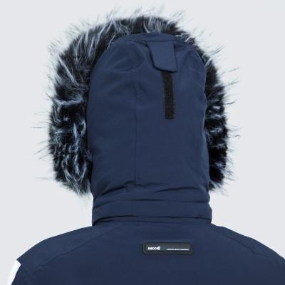 Фото 10 - Куртку женская Luhta Jalonoja, размер 42 белого цвета