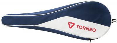 Чехол для 1-3 бадминтонных ракеток TorneoПрактичный чехол, в который помещается от одной до трех бадминтонных ракеток. Чехол защищает ракетку и струны от повреждений. Модель застегивается на молнию.<br>Количество отделений: 1; Вид спорта: Бадминтон; Артикул производителя: SK-210T; Материал верха: 100 % поливинилхлорид; Материал подкладки: 100 % полиэстер; Производитель: Torneo; Страна производства: Китай; Срок гарантии: 2 года; Размер RU: Без размера;