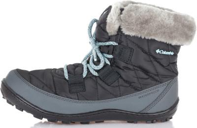 Ботинки утепленные для девочек Columbia Youth Minx Shorty Omni-Heat WP, размер 33