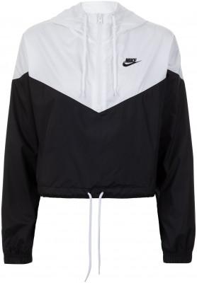 Ветровка женская Nike Sportswear, размер 42-44Куртки <br>Винтажная женская ветровка nike sportswear - идеальное завершение образа в спортивном стиле.