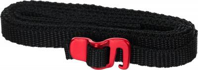 Веревка OutventureУниверсальные стропы длиной 150 см. Применяются для крепления дополнительного снаряжения к рюкзаку, упаковки любых грузов и скрепления вместе объемного и легкого снаряжения.<br>Материалы: 95 % полиэстер, 5 % сталь; Размер (Д х Ш), см: 150 х 1; Вес, кг: 0,04; Вид спорта: Кемпинг, Походы; Производитель: Outventure; Артикул производителя: EOUOA01391; Срок гарантии: 1 год; Страна производства: Китай; Размер RU: Без размера;