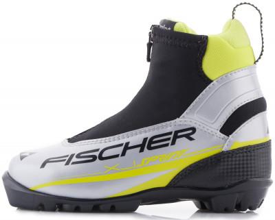 Ботинки для беговых лыж детские Fischer XJ SprintСамая популярная модель лыжных ботинок начального уровня для детей и подростков. Подойдет как для классического, так и для конькового стиля.<br>Сезон: 2016/2017; Назначение: Детские; Стиль катания: Комбинированный; Уровень подготовки: Начинающий; Пол: Мужской; Возраст: Дети; Вид спорта: Беговые лыжи; Система креплений: NNN; Форма колодки: Junior fit; Система шнуровки: Закрытая; Производитель: Fischer; Артикул производителя: S47215; Срок гарантии: 1 год; Страна производства: Индонезия; Размер RU: 36;