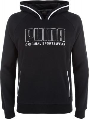 Джемпер мужской Puma Athletics, размер 46-48Джемперы<br>Заверши образ в спортивном стиле удобной толстовкой puma. Натуральные материалы натуральный хлопок для комфорта и воздухопроницаемости.