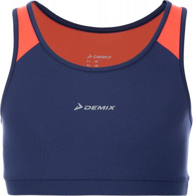 Бра для девочек Demix, размер 128Футболки и майки<br>Бра для фитнеса от demix - отличный выбор для юных спортсменок.