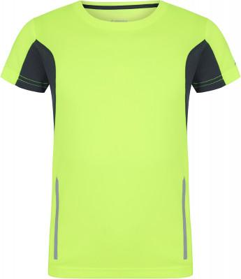 Футболка для мальчиков Demix, размер 146Футболки и майки<br>Яркая беговая футболка из влагоотводящей ткани для мальчиков от demix.