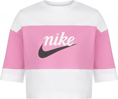 Футболка женская Nike Sportswear Varsity, размер 40-42