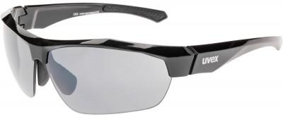 Солнцезащитные очки UvexУниверсальные очки для защиты от солнца и занятий спортом.<br>Цвет линз: Серебристый Зеркальный; Назначение: Бег,велоспорт; Пол: Мужской; Возраст: Взрослые; Вид спорта: Бег, Велоспорт; Ультрафиолетовый фильтр: Есть; Зеркальное напыление: Есть; Материал линз: Поликарбонат; Оправа: Пластик; Технологии: 100% UVA- UVB- UVC-PROTECTION, Decentered Lens, LITEMIRROR; Производитель: Uvex; Артикул производителя: S5308832216; Срок гарантии: 1 месяц; Страна производства: Тайвань; Размер RU: Без размера;