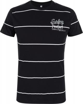 Футболка мужская Exxtasy Watsonvile, размер 46-48Surf Style <br>Мужская футболка от exxtasy - отличный выбор для отдыха на пляже в жаркие летние дни.