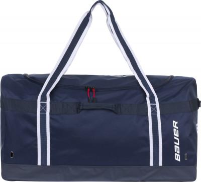 Сумка хоккейная Bauer S17 Vapor Team CarryХоккейная сумка для транспортировки и хранения экипировки. Сумка изготовлена из прочного материала рolyestr с плотностью 600 d.<br>Размеры (дл х шир х выс), см: 81,3 x 45,7 x 45,7; Объем: 170 л; Материалы: Полиэстер, пластиковые элементы, нейлон; Производитель: Bauer; Артикул производителя: 1052440; Страна производства: Китай; Размер RU: Без размера;