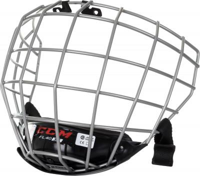 Маска для хоккейного шлема CCMХоккейная защита <br>Маска для шлема ccm защищает лицо хоккеиста во время игр и тренировок. Прочная стальная решетка серебристого цвета гарантирует максимальный обзор.