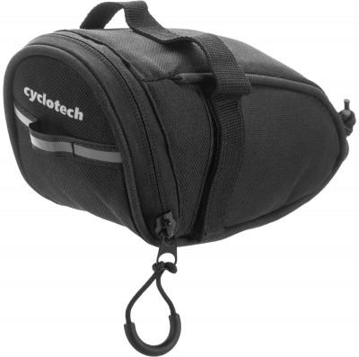 Велосипедная сумка CyclotechВелосипедная сумка cyclotech.<br>Размеры (дл х шир х выс), см: 18 x 7,5 x 8; Материалы: 100 % полиэстер; Производитель: Cyclotech; Артикул производителя: CYC-6BLN.; Страна производства: Китай; Размер RU: Без размера;
