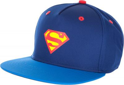 Бейсболка детская PumaЯркая бейсболка с любимым супергероем! Прямой козырек контрастного цвета, вентиляционные глазки с окантовкой, пластиковая застежка-регулятор, значок superman спереди и сзади<br>Пол: Мужской; Возраст: Дети; Вид спорта: Спортивный стиль; Материал верха: 100 % полиэстер; Производитель: Puma; Артикул производителя: 021287; Страна производства: Китай; Размер RU: Без размера;