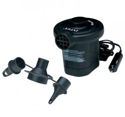 Насос электрический Intex 12VКомпактный электрический насос - незаменимая вещь на отдыхе и в домашнем обиходе.<br>Состав: ПВХ /металл; Вид спорта: Кемпинг; Производитель: Intex; Артикул производителя: ВД66626; Срок гарантии: 1 год; Страна производства: Китай; Размер RU: Без размера;