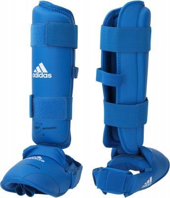 Защита голени и стопы adidas, Синий, S