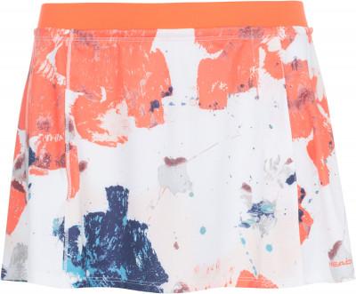 Юбка женская Head Vision, размер 44-46Женская одежда<br>Женская юбка предназначена для занятий теннисом. Свобода движений эластичная износостойкая ткань ergo stretch служит для идеальной посадки и полной свободы движений.