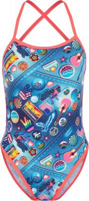 женский купальник speedo, разноцветный