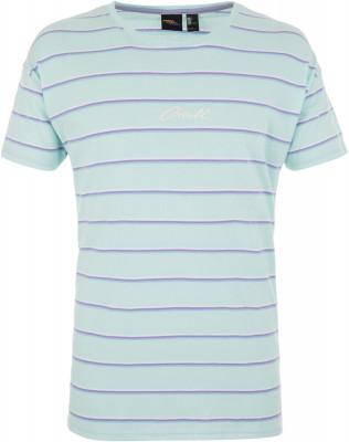 Футболка мужская ONeill Lm Striped Wow, размер 50-52Surf Style <br>Мужская футболка o neill отлично подойдет для активного отдыха на пляже. Свобода движений футболка с прямым кроем не стесняет движения.
