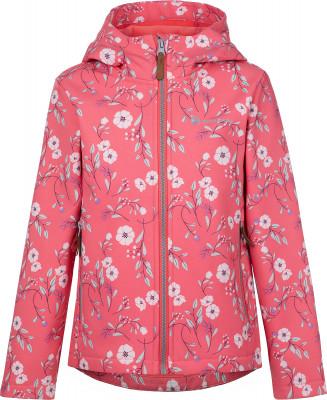 Куртка софтшелл для девочек Outventure, размер 110
