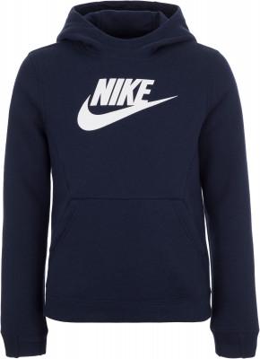 Джемпер для мальчиков Nike Sportswear, размер 147-158Джемперы<br>Классика спортивного стиля - худи nike sportswear. Натуральные материалы натуральный хлопок для комфорта и воздухопроницаемости.
