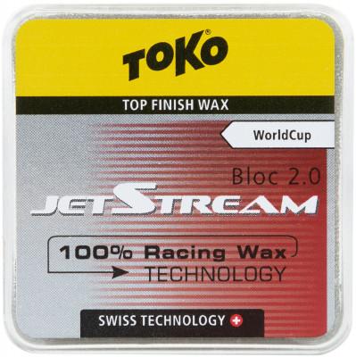 Порошок фторуглеродный для беговых лыж TOKO JetStream Bloc 2.0 red, размер Без размера