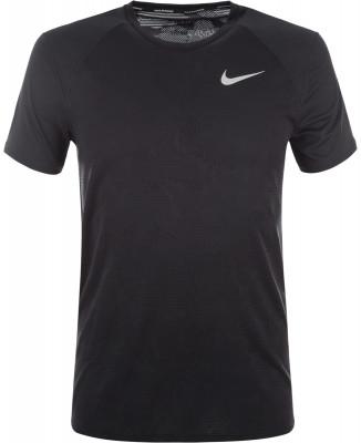 Футболка мужская Nike Dry MilerМужская футболка для занятий бегом nike dry miler. Отведение влаги технология nike dri-fit обеспечивает эффективный влагоотвод. Комфорт плоские швы не натирают кожу.<br>Пол: Мужской; Возраст: Взрослые; Вид спорта: Бег; Покрой: Прямой; Плоские швы: Да; Технологии: Nike Dri-FIT; Производитель: Nike; Артикул производителя: 904661-010; Страна производства: Вьетнам; Материалы: 100 % полиэстер; Размер RU: 52-54;