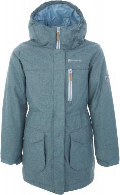 Куртка утепленная для девочек Outventure, размер 128Куртки <br>Куртка для девочек outventure - отличный выбор для путешествий. Защита от влаги ткань с обработкой add dry water resistant защищает от мелкого дождя.