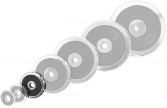Блин Torneo хромированный с резиновой вставкой 2,5 кг