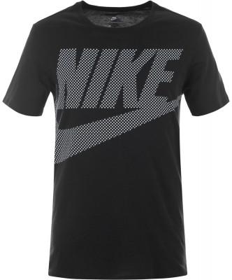 Футболка мужская Nike SportswearУдобная классическая футболка от nike - оптимальное завершение твоего спортивного образа.<br>Пол: Мужской; Возраст: Взрослые; Вид спорта: Спортивный стиль; Покрой: Прямой; Материалы: 100 % хлопок; Производитель: Nike; Артикул производителя: 891865-010; Страна производства: Турция; Размер RU: 46-48;