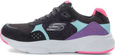 Кроссовки женские Skechers Meridian-No Worries, размер 37Кроссовки <br>Винтажные кроссовки meridian от skechers - отличный выбор для образа в спортивном стиле.
