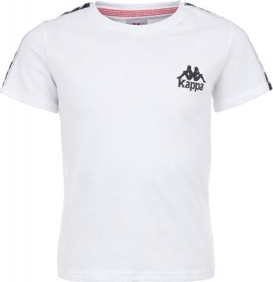 Футболка для мальчиков Kappa, размер 140Футболки и майки<br>Детская футболка в классическом спортивном стиле от kappa. Натуральные материалы натуральный хлопок гарантирует комфорт и вентиляцию.