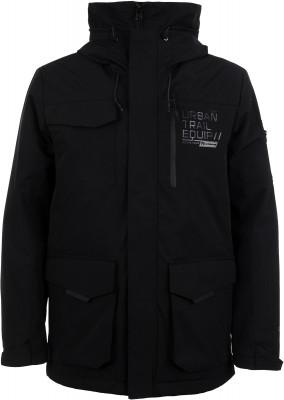 Куртка утепленная мужская Outventure, размер 52Куртки <br>Куртка от outventure пригодится в поездках и путешествиях. Водонепроницаемость мембрана add dry эффективно защищает в дождливую и ветреную погоду.