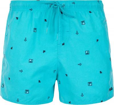 Шорты плавательные мужские Fila, размер 54Плавки, шорты плавательные<br>Практичные плавательные шорты fila подойдут для занятий в бассейне. Быстрое высыхание благодаря технологии swim n dry, ткань быстро сохнет.
