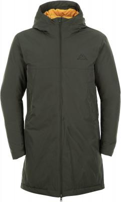 Купить Куртку пуховая мужская Kappa, размер 46 зеленого цвета