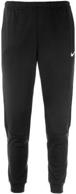 Брюки мужские Nike DryМужские брюки для тренинга от nike. Отведение влаги ткань с технологией nike dri-fit эффективно отводит влагу от кожи.<br>Пол: Мужской; Возраст: Взрослые; Вид спорта: Тренинг; Силуэт брюк: Зауженный; Количество карманов: 2; Материал верха: 100 % полиэстер; Технологии: Nike Dri-FIT; Производитель: Nike; Артикул производителя: 860371-010; Страна производства: Камбоджа; Размер RU: 52-54;