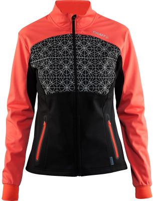 Куртка женская CraftТеплая и практичная куртка для тех, кто хочет заниматься беговыми лыжами даже в самую холодную и ветреную погоду.<br>Пол: Женский; Возраст: Взрослые; Вид спорта: Беговые лыжи; Защита от ветра: Есть; Покрой: Прямой; Светоотражающие элементы: Есть; Дополнительная вентиляция: Есть; Длина куртки: Средняя; Капюшон: Отсутствует; Количество карманов: 2; Артикулируемые локти: Да; Производитель: Craft; Артикул производителя: 1904245; Страна производства: Китай; Материал верха: 70 % полиэстер, 17 % полиуретан, 13 % эластан; Размер RU: 46;