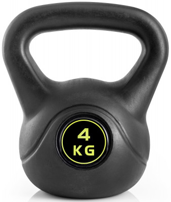 Гиря Kettler Basic, 4 кгГиря kettler basic для функционального тренинга. Удобная рукоять позволяет выполнять упражнения с гирей как одной, так и двумя руками.<br>Вес, кг: 4; Покрытие: Пластик; Состав: Пластик, минеральный наполнитель; Вид спорта: Силовые тренировки, Фитнес; Производитель: Kettler; Срок гарантии: 2 года; Артикул производителя: 7373-850; Страна производства: Китай; Размер RU: Без размера;