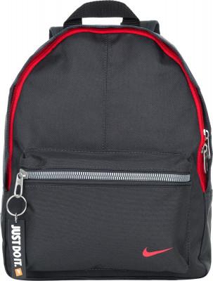 Рюкзак для мальчиков Nike ClassicМаленький детский рюкзак nike classic.<br>Пол: Мужской; Возраст: Дети; Вид спорта: Тренинг; Размеры (дл х шир х выс), см: 25,4 x 10,16 x 31,75; Количество карманов: 1; Количество отделений: 1; Производитель: Nike; Артикул производителя: BA4606-060; Страна производства: Индонезия; Материал верха: 100 % полиэстер; Размер RU: Без размера;