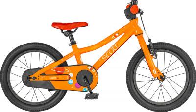 Roxter 16 (2019), размер 95-125Велосипеды<br>Велосипед с заниженной рамой scott roxter 16, созданный специально для мальчиков 4-6 лет. Легкость в модели использована легкая алюминиевая рама.
