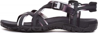 Сандалии женские Merrell Terran Ari Lattice, размер 42Сандалии <br>Практичные сандалии для летних путешествий от merrell. Сцепление с поверхностью подошва m select grip обеспечивает хорошее сцепление.