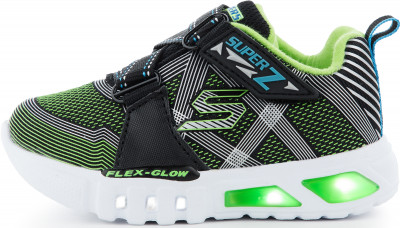 Кроссовки для мальчиков Skechers Flex-Glow-Nite Lite, размер 24