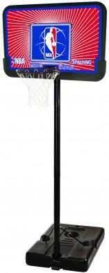 Баскетбольная стойка Spalding 2012 NBA Logoman 44